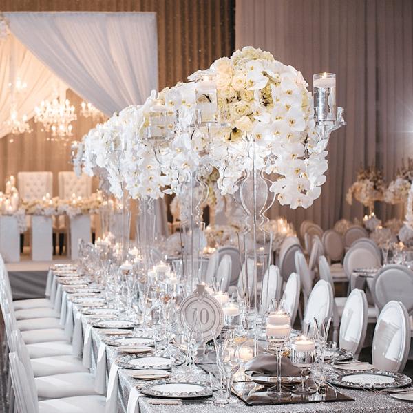 Как украсить помещение на 10 лет- оловянную свадьбу