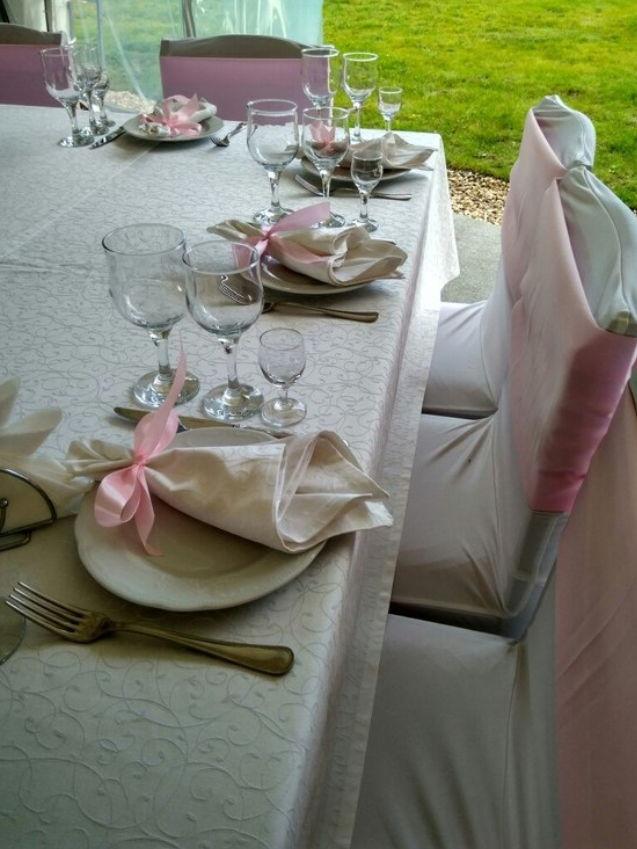 Оловянная свадьба, праздничный стол