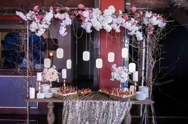 Декор на оловянную свадьбу